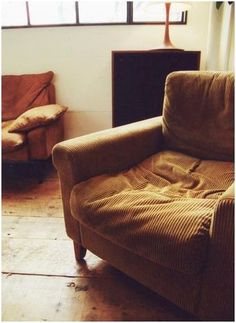 corduroy chair