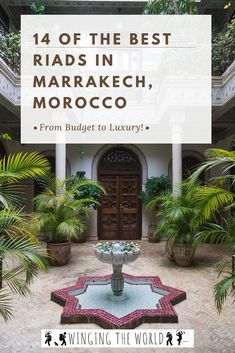Choosing a riad can be overwhelming so we've compiled a list of the best riads in Marrakech to help you arrange your perfect stay! Best Riads In Marrakech, Riad Marrakech, Marrakesh, Morocco Travel, Africa Travel, Abandoned Castles, Abandoned Mansions, Travel Blog, Travel Tips