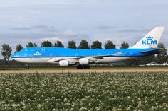 "PH-BFI, 15.07.2017 at Amsterdam, AMS, CN 25086, Boeing 747-406, KLM Royal Dutch Airlines named ""Jakarta""."