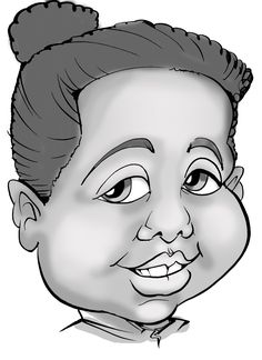 A digital caricature done of a customers daughter at a recent party. This was done from Jennifer the caricature artist Caricature Artist, Daughter, Portrait, Digital, Illustration, Party, Headshot Photography, Portrait Paintings, Parties