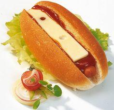 Traditionele hotdogs (nederlands, new york, boston, chicago,