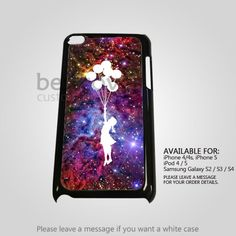 AJ 2067 Bansky Ballon Fox Galaxy - iPod 4 Case | BestCover - Accessories on ArtFire