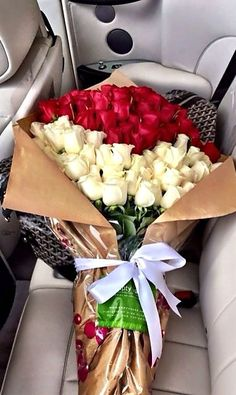 Where is the man of my dream w/this beautiful bouquet of flowers?