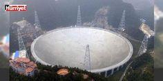 Çin uzaydaki yaşamı araştırıyor: Çin uzaydaki yaşamı araştırmak amacıyla yaptığı dünyanın en büyük radyo teleskobunun faaliyete başladığını bildirdi. Teleskop 30 futbol sahası büyüklüğünde...