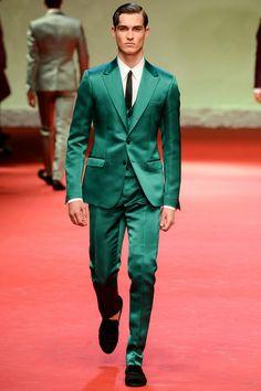 """Precious Stone"" colors  Dolce & Gabbana | Spring 2015 Menswear Collection | Style.com"