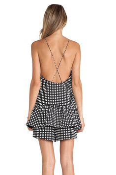 cute gingham playsuit