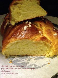 Pour passer un bon Desserts, nous vous proposons une recette de Brioche tressée . recette de cuisine, facile et rapide, par Les gourmands mediterraneens