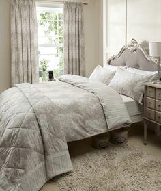Versailles Grey - Cotton - Duvet Cover Set