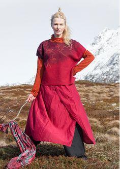 """Pullover """"Helleborus"""" aus gefilzter Wolle 77504-33.tif"""