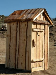 Outhouse - Rustic Nature