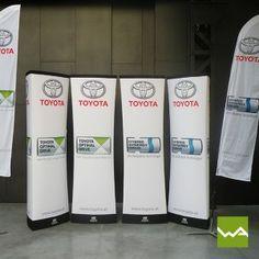 AUFBLASBARE SÄULE - MB-AIRTRILON von dieWerbearchitekten für Toyota Toyota, Tents, Drinks, Unique, Teepees, Drinking, Beverages, Drink, Curtains