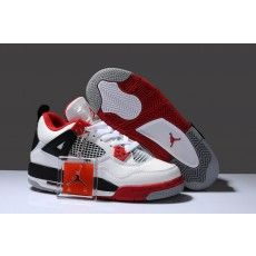 best service 8348c e152a Buy New Zealand Hot Sell Discount Nike Air Jordan 4 Iv Retro Womens Shoes  White Red Black from Reliable New Zealand Hot Sell Discount Nike Air Jordan  4 Iv ...