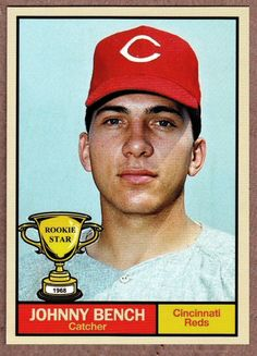 Johnny Bench. Card the never was.