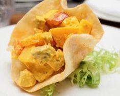 Poulet sucré-salé curry et ananas en sachets légers : http://www.fourchette-et-bikini.fr/recettes/recettes-minceur/poulet-sucre-sale-curry-et-ananas-en-sachets-legers.html