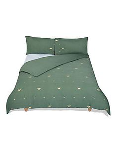 Bee & Butterfly Embroidered Bedding Set