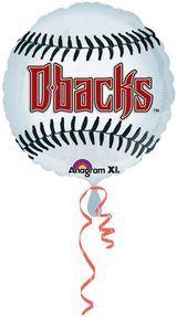 18'' Arizona Diamondbacks Foil Balloon (Pack of 5)