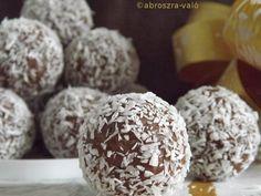 Kipróbált és bevált receptek ...: Csokis-tejszínes gesztenyegolyó
