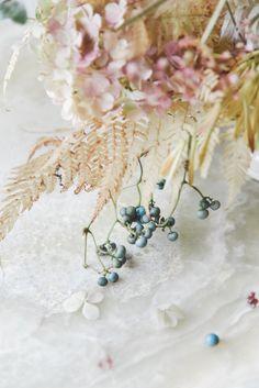 A Muted Fall Arrangement by Sarah Winward - Entertaining - Rip & Tan Tuscan Art, Monochrome Weddings, Exotic Wedding, Fall Arrangements, Craft Wedding, Floral Crown, Wedding Flowers, Wedding Bouquets, Amazing Flowers