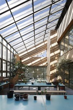 Built by Jean-François Schmit in Paris, France The 21st century school will be environmental or it won't exist! In this project, it was not simply a matter of rebui...
