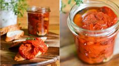 Rajčata v nejlepší sezoně si užijte čerstvá, ale jejich výtečnou chuť si můžete uschovat i na později. Vyzkoušejte báječný recept na rajčatový konfit. Je to něco mezi sušením a vařením, rajčata se totiž nechávají pomalu péct v oleji. Pak jsou vynikající na bruschetty, v toustech nebo do těstovin.