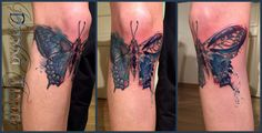 Watercolor Butterfly by www.donna-tinta.de