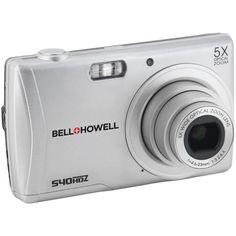 Bell+howell 16.0 Megapixel S40hdz Slim Hd Digital Camera (silver)