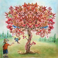 Tree secret garden by Hülya Şenhelvacılar