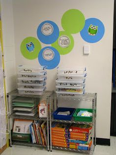 Classroom Tour (Part Two) AND Black and White Label Freebie!
