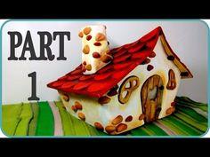 DIY Polymer Clay Witch House Lantern/Jar Tutorial // Maive Ferrando - YouTube