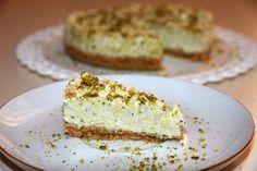 Cheesecake al pistacchio,Cheesecake al pistacchio senza cottura