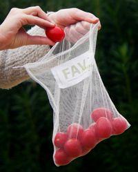 reusable produce bags, handmade by women - brainchild of @AZ State design master's degree student #asuherberger