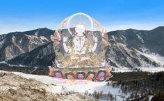 Chenrezig Mahabodhisattva  (Translucent/Rainbow-body) Chenrezig