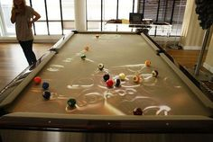 Giving New Meaning To Pool Tables Everywhere.