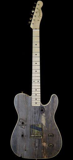 Fender Custom Shop Masterbuilt Hollywood Bowl Front Row Legend Esquire Seat #42 by Yuriy Shishkov