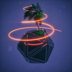 Palmee  #cinema #c4d #cinema4d #octane #render #octanerender#photoshop #daily #3d #gfx #graphics #graphic #design #abstract #art #surreal #path #grass #substance #designer #geometry #palm #realistic #rsa_graphics