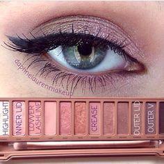 Image result for naked 3 palette looks blue eyes #wingedlinertricks
