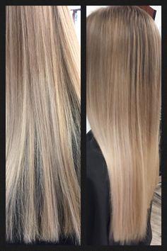 Balayage Longhair Langes Haar Sombré Ombré Blond blonde