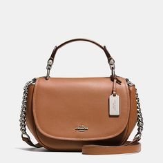 b2919d18b8 Coach Nomad Top Handle Crossbody in Glovetanned Leather New York Fashion