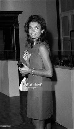 Jackie Onassis on August 4, 1973 in Athens, Greece.
