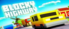 Blocky Highway v1.2.1 MOD APK – PARA HİLELİ