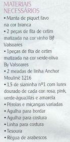 MANTA DE PIQUÊ BORDADA COM  FLOR ROSA LINDA  DE SIANINHA
