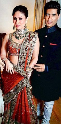 #kareena in Manish Malhotra for her reception!!!