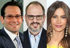 Sofia Vergara, Emiliano Calemzuk & Luis Balaguer & Raze Team On Digital Platform For Latino Content