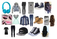 """""""DJ, Music Video, Regular"""" by kikilee01 on Polyvore featuring Beats by Dr. Dre, Converse, City Chic, Frame Denim, maurices, Veronica Beard, Ally Fashion, Abercrombie & Fitch, dj and regular"""