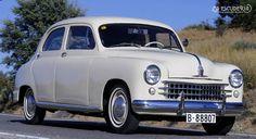 Seat 1400 matriculado en Barcelona el 3 de marzo de 1954