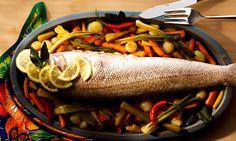 15 receitas leves de peixes assados
