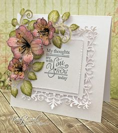 Thinking of you. card by Liz Walker