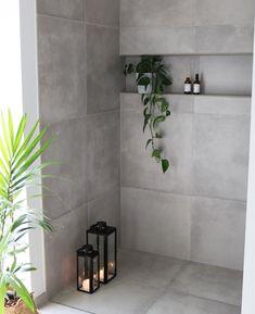 Bathroom Niche, Bathroom Plans, Bathroom Interior Design, Tile Design, Interior Inspiration, Diy Home Decor, House Design, House Styles, Aalborg