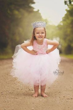 Ashley Wright Photography  Princess Photoshoot Three Year Old Pics Pictures Texas Crown Lace Pink Gold Dress Boutique Idea