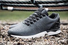 adidas-zx-flux-print-knit-1. Knitted (though printed).